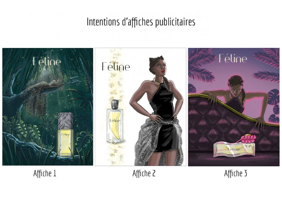 MEP_demarche-creative_-parfum_Feline--intention-affiche-publicitaire